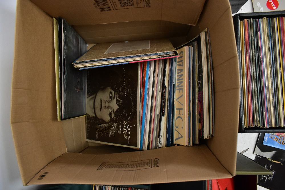 An extensive collection of LP Vinyl records and singles, to include Elton John, Jimi Hendrix, - Image 4 of 6
