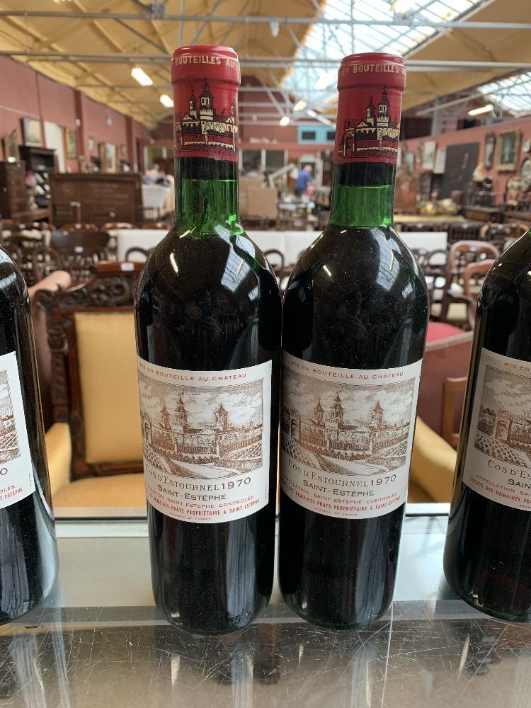 FRANCE; two cases of twelve 1970 Cos D'Estournel Saint-Estèphe bottles of red wine, 75cl (24). - Image 6 of 16