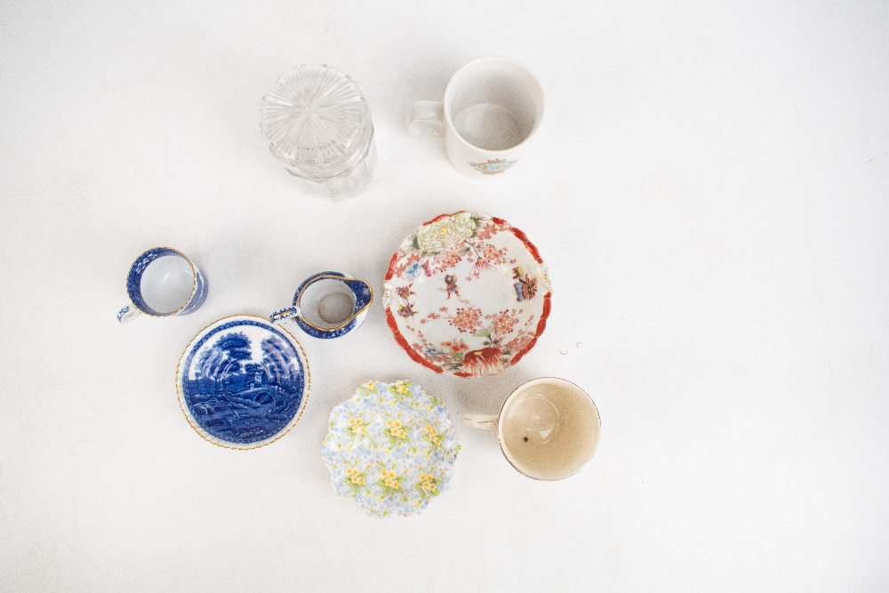 A collection of 19th century and later ceramics including a small selection of Goss and other - Image 2 of 4