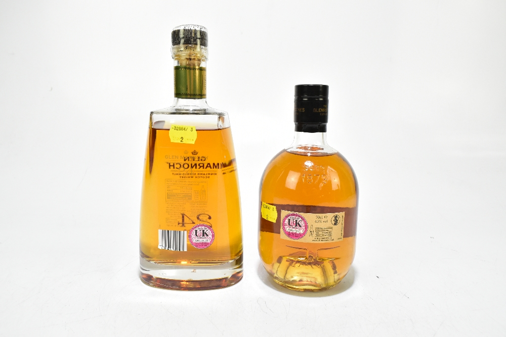 WHISKY; two single bottles comprising The Glenrothes Select Reserve Speyside single malt Scotch - Image 2 of 2
