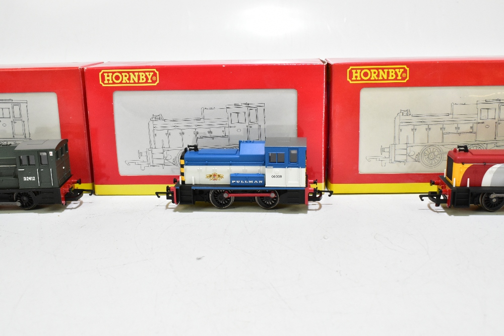 HORNBY; four boxed diesel shunter locomotives comprising R2783 BR 0-4-0 Class 06, R2188 BR 0-4-0 - Image 9 of 11
