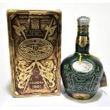 WHISKY; a single bottle of Chivas 21 years old Royal Salut blended Scotch whisky, 26 2/3fl oz,