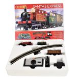 HORNBY; a boxed R1179 Santa's Express OO gauge train set.Additional InformationSome light general