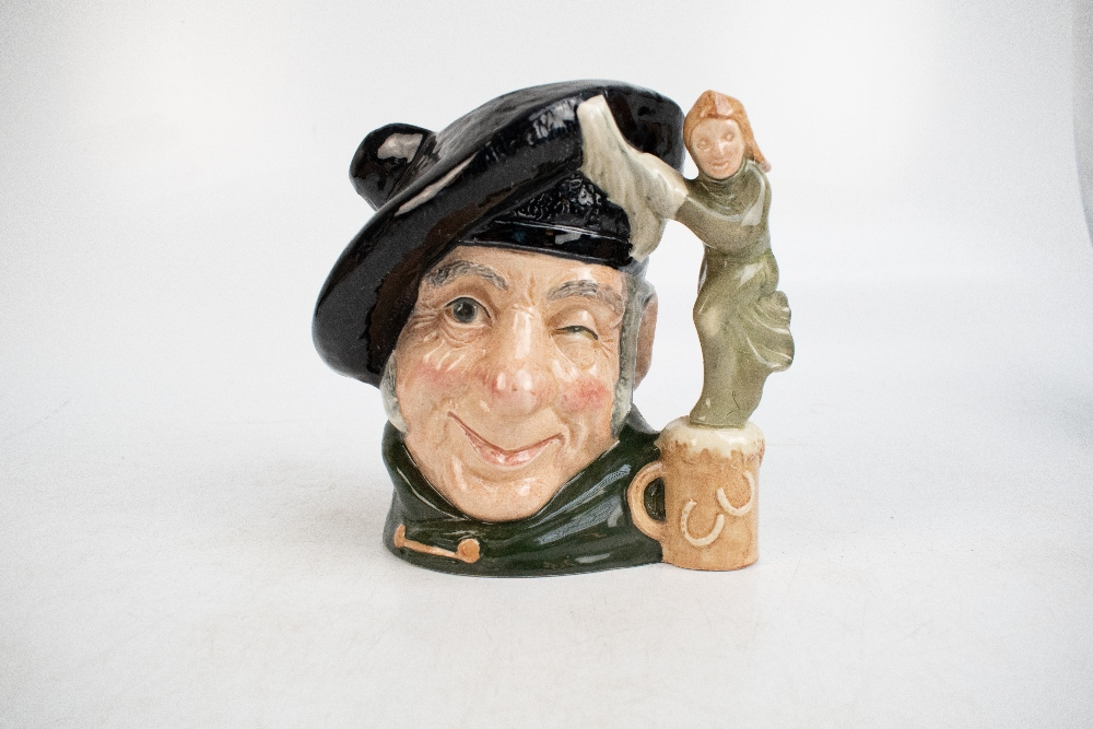 ROYAL DOULTON; seven characters from literature themed character jugs, comprising D6529 'Merlin', - Image 7 of 8