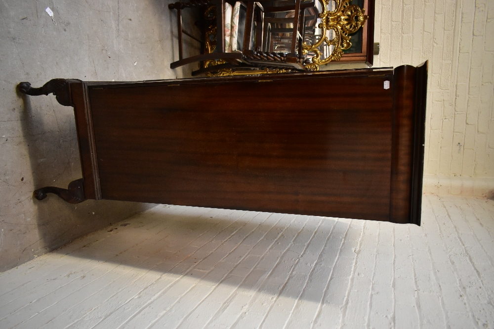 A 1950s mahogany veneered twin door silver cabinet, the twin panelled doors enclosing seven - Image 5 of 6