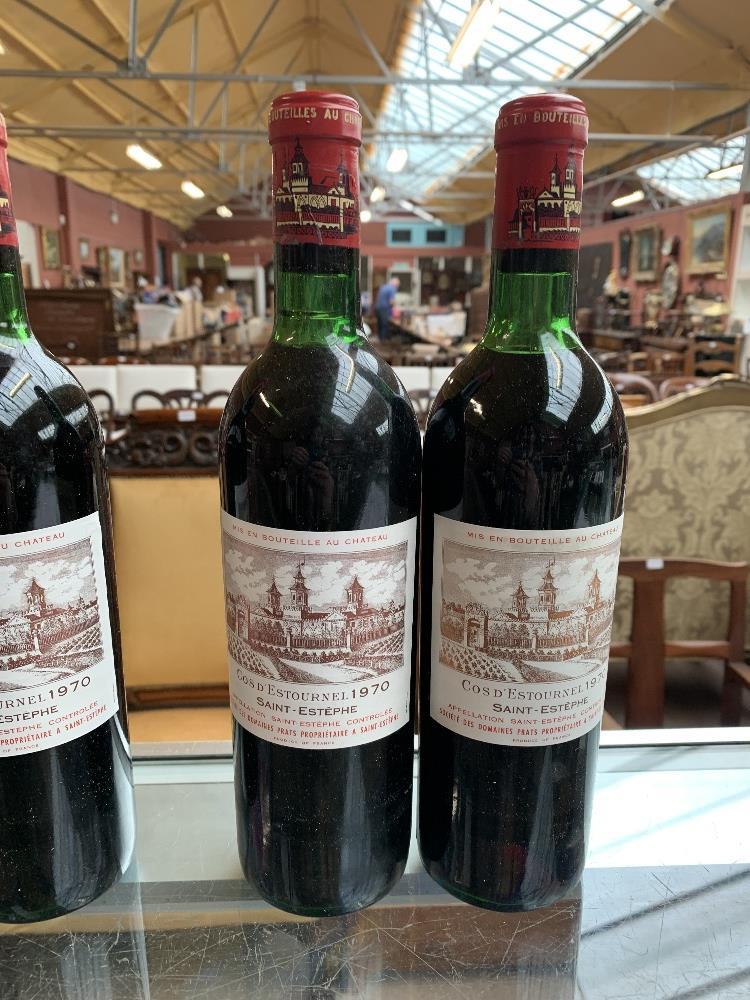FRANCE; two cases of twelve 1970 Cos D'Estournel Saint-Estèphe bottles of red wine, 75cl (24). - Image 10 of 16