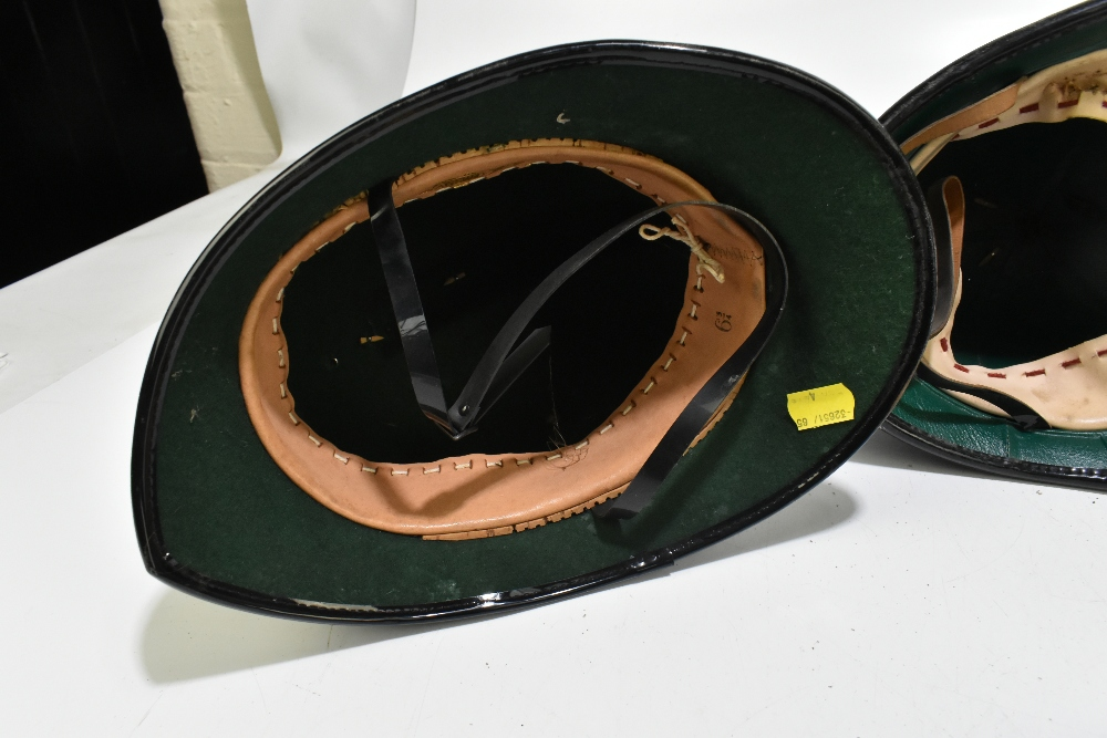 Three Police helmets with Staybrite badges and mounts, the first for Greater Manchester Police by - Image 6 of 9
