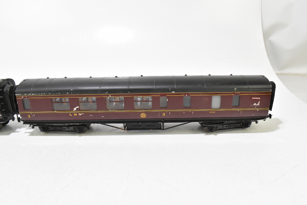 EXLEY FORBASSETT-LOWKE; two LMS coaches comprising a K5 Corridor 1st No.8778 and K6 Brake 3rd No. - Image 6 of 9