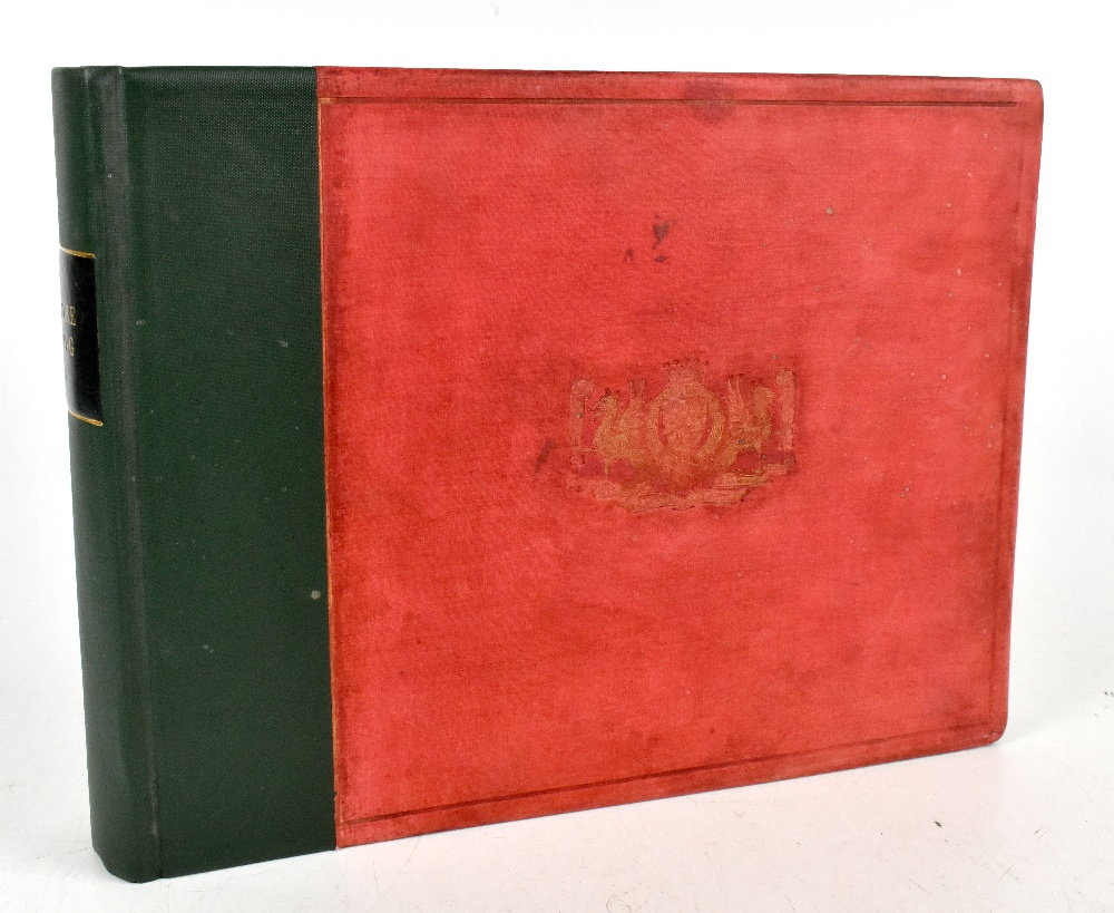 MASSEY (F), PORTRAIT SKETCHES IF CHESHIRE HUNTING MEN FROM 1850 to 1890, gilt red cloth with green