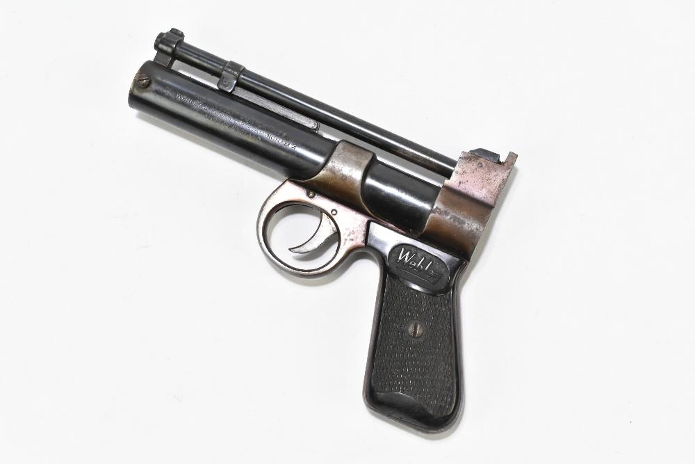 A Webley Junior .177 air pistol with bakelite grips, length 20cm. Provenance: The Captain Allan - Image 2 of 4