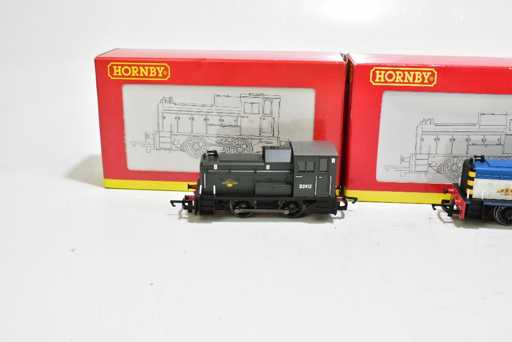 HORNBY; four boxed diesel shunter locomotives comprising R2783 BR 0-4-0 Class 06, R2188 BR 0-4-0 - Image 8 of 11