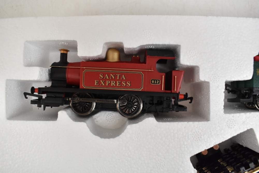 HORNBY; a boxed R1179 Santa's Express OO gauge train set.Additional InformationSome light general - Image 3 of 8