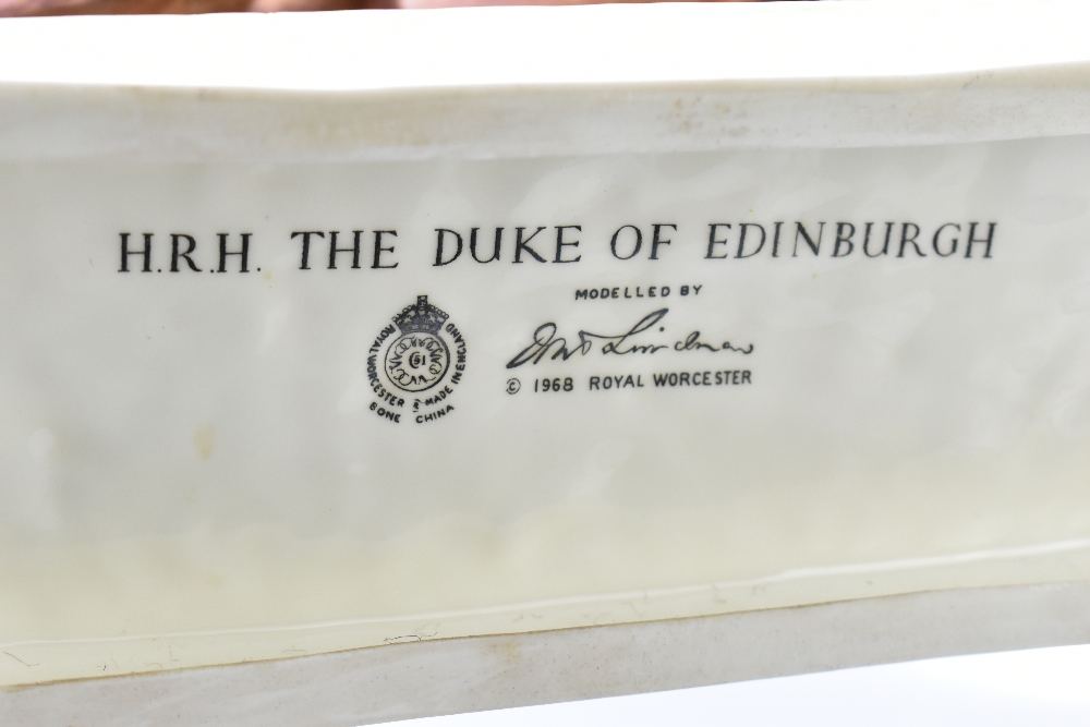*** WITHDRAWN *** ROYAL WORCESTER; a limited edition figure, 'H.R.H. The Duke of Edinburgh', the - Image 7 of 7