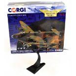 CORGI; a boxed Aviation Archive AA37209 Handley Paid Halifax B.III military model aircraft,