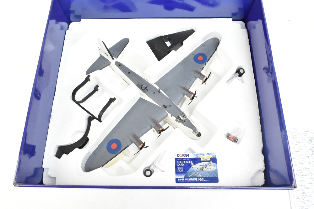 CORGI; a boxed Aviation Archive AA27502 Short Sunderland MkIII ML788/2-S, no.422 Squadron S RCAF, - Image 4 of 4