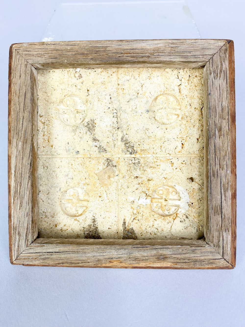 BERNARD LEACH (1887-1979) for Leach Pottery; a stoneware tile depicting ducks and reeds in - Image 4 of 4