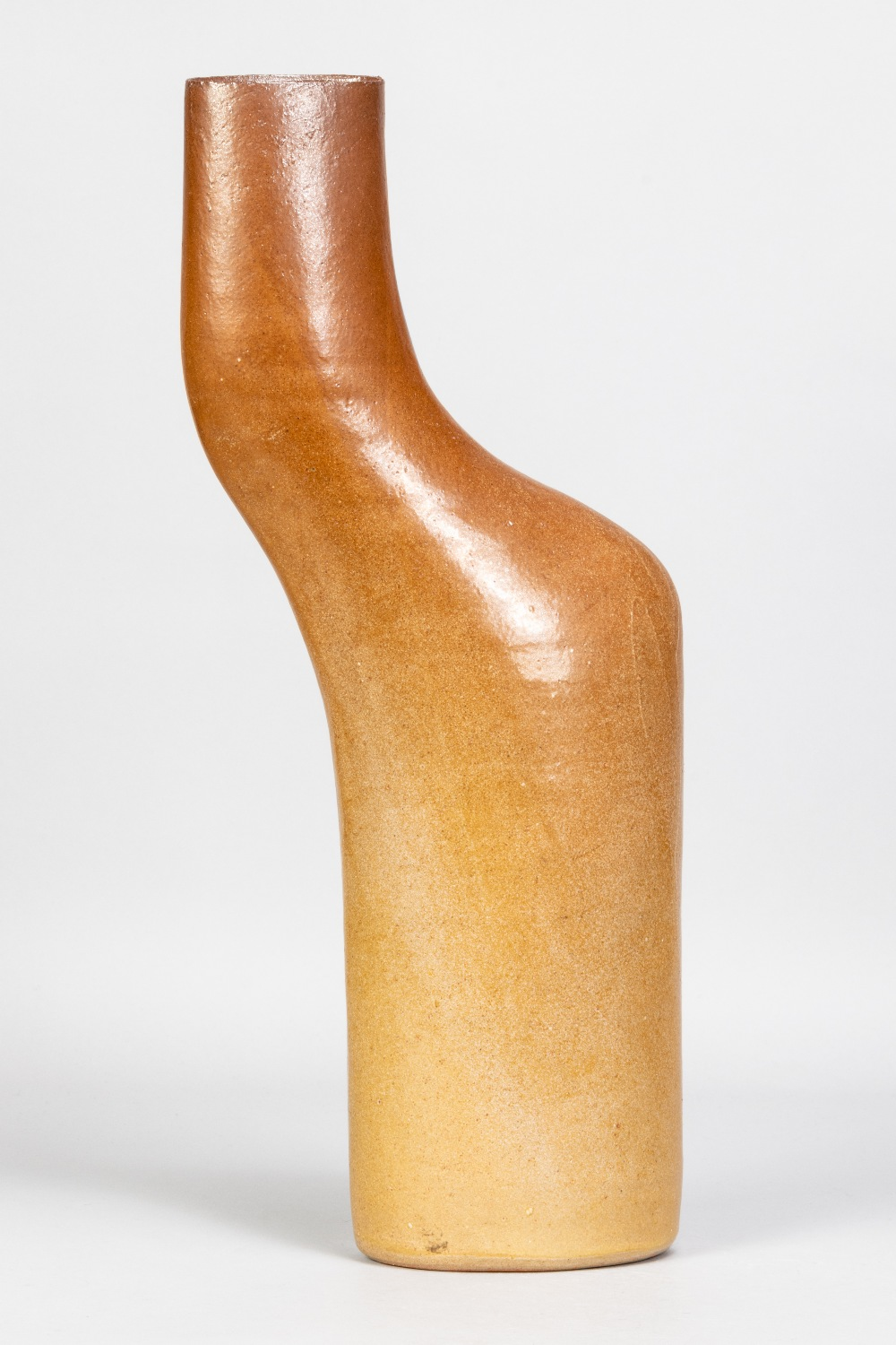 JOANNA CONSTANTINIDIS (1927-2000); a stoneware body pot with lustred surface, impressed C mark,