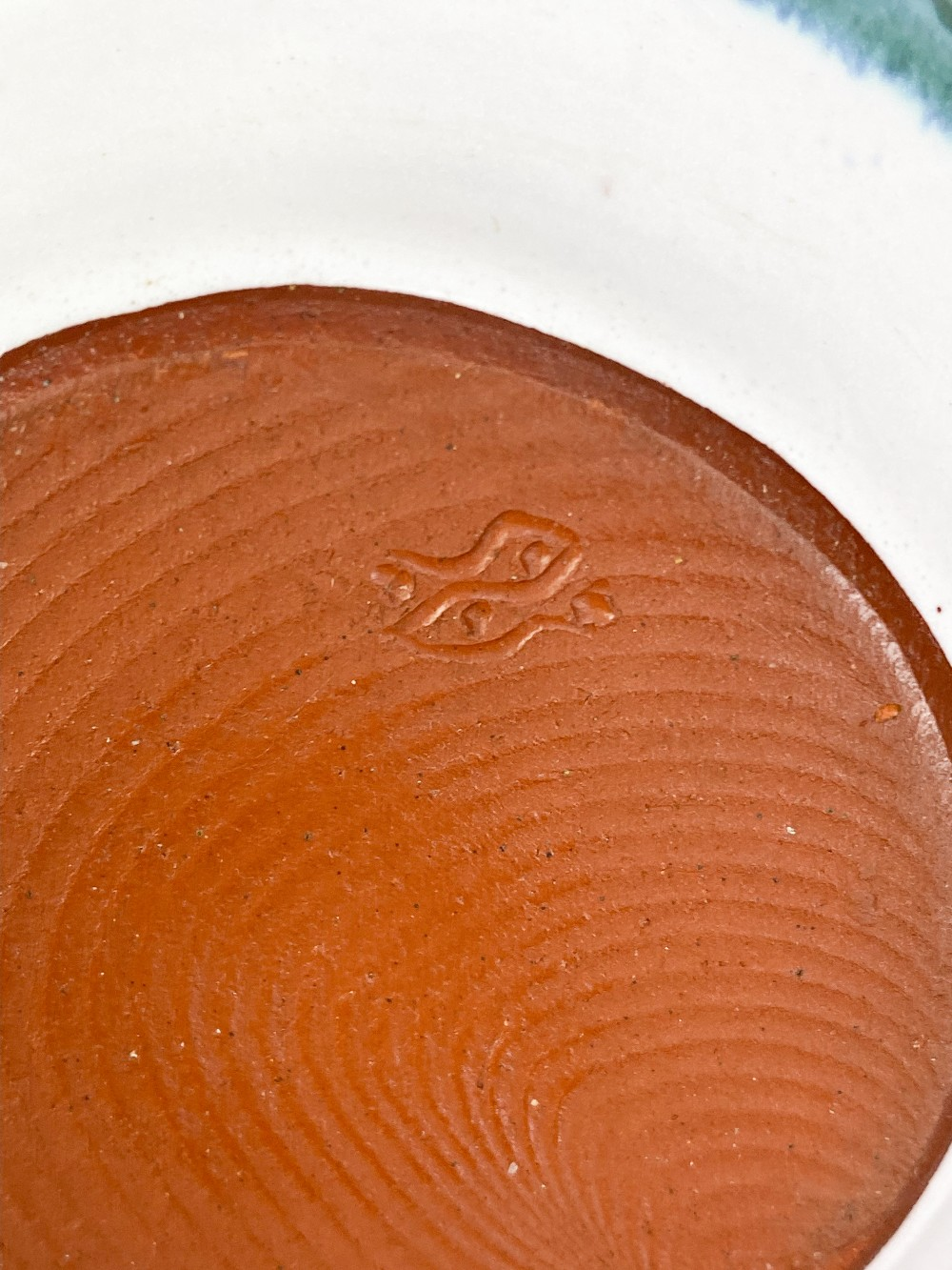 DENNIS LUCAS (1926-1999) for Hastings Pottery; three tin glazed earthenware bowls, impressed pottery - Image 4 of 5