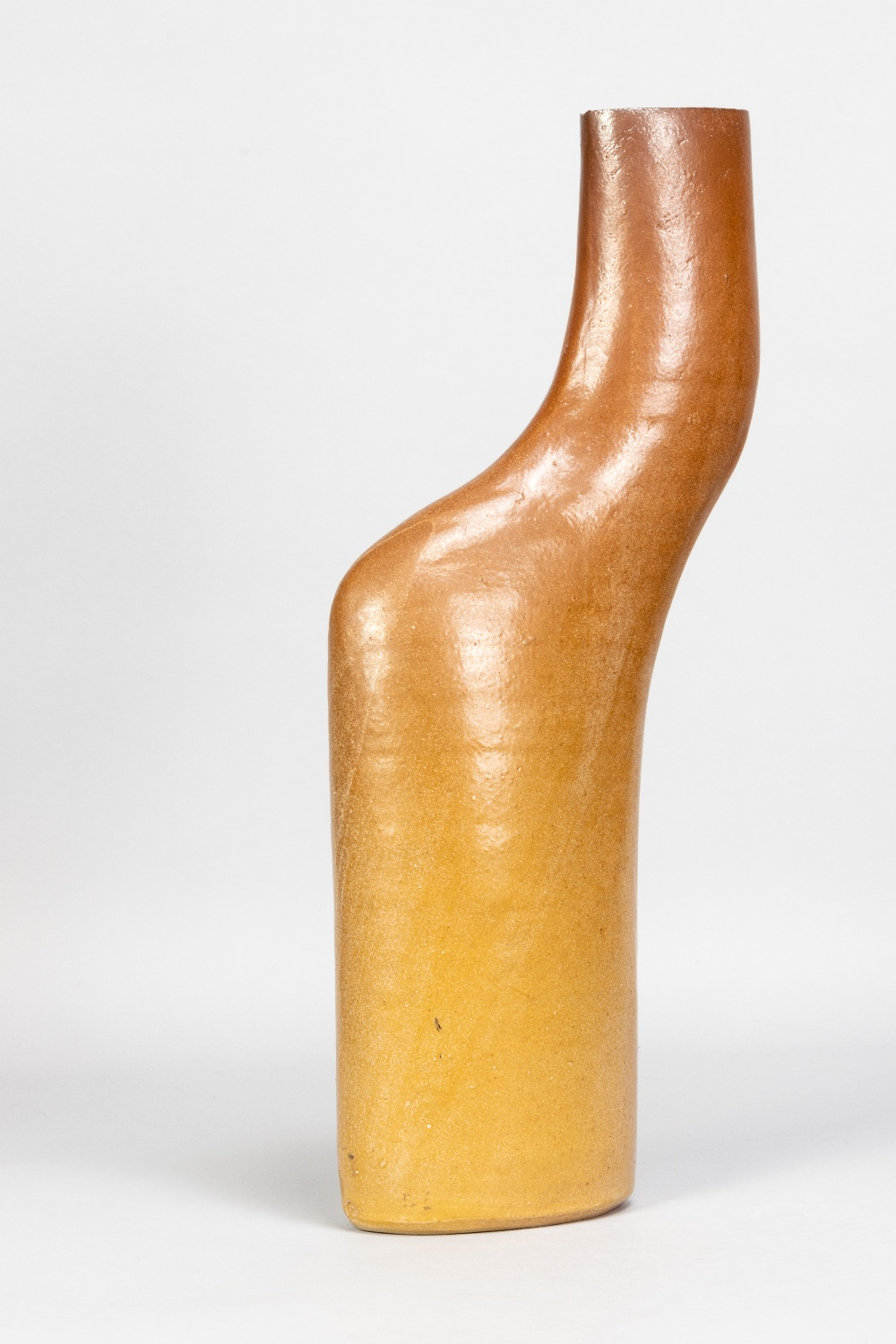 JOANNA CONSTANTINIDIS (1927-2000); a stoneware body pot with lustred surface, impressed C mark, - Image 2 of 5