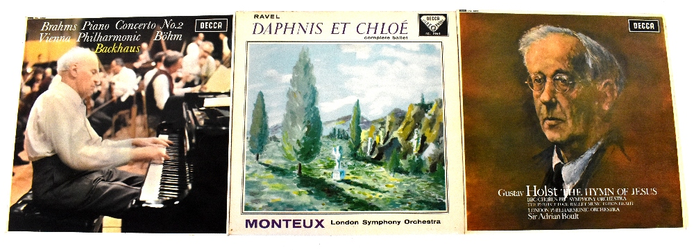 Three Classical LPs, all on Decca and all WGB grooved, to include Monteux SXL2164,