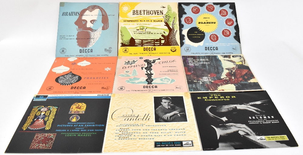 Over eighty Classical related LPs to include Adrian Boult, Albert Wolff, Rudolf Firkusny,