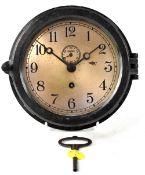 A Chelsea Clock Company circular US Military Naval ship's clock,