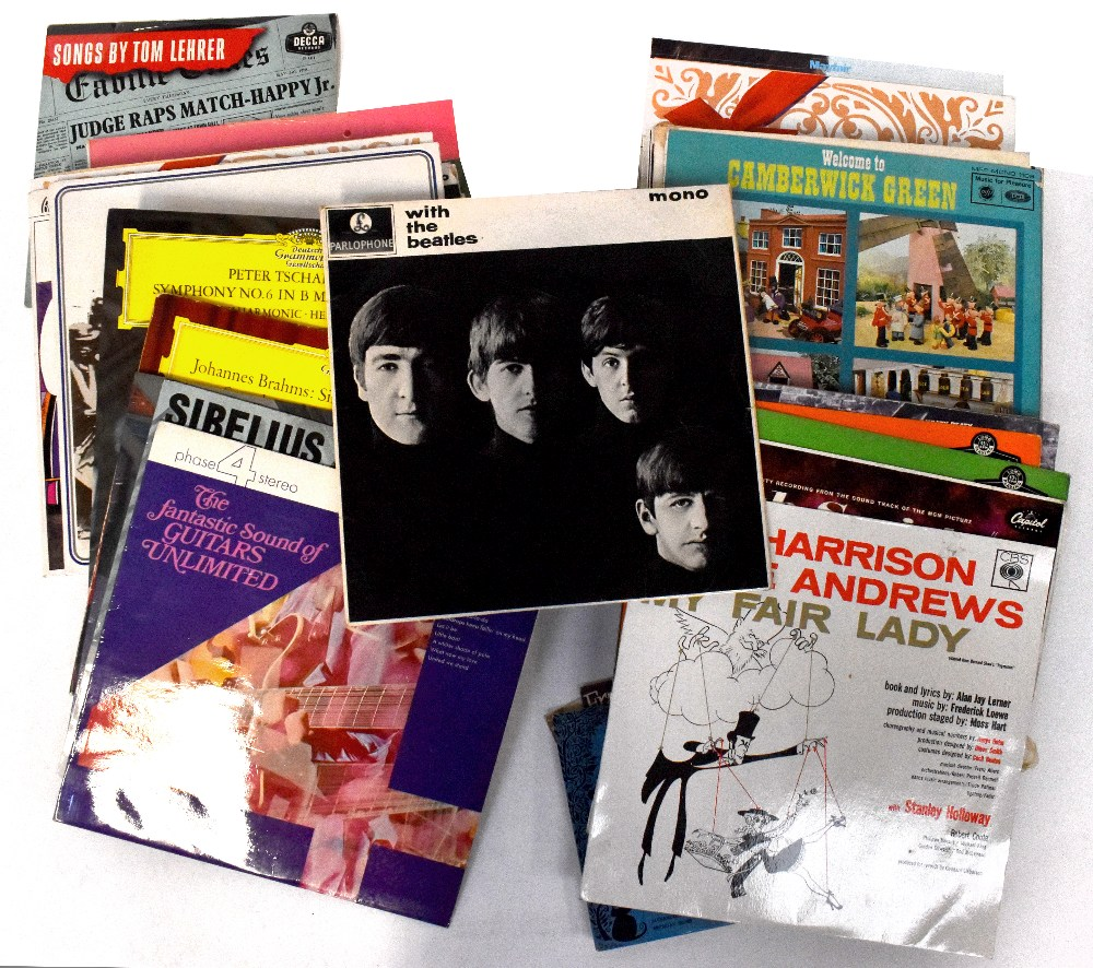 A quantity of LP records to include The Beatles 'With The Beatles' PMC1206,