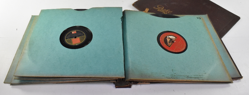 A large collection of over 120 shellac 78s, various labels to include Brunswick, Capitol Records, - Image 6 of 6