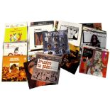 A small collection of vinyl LPs to include 'The Classical Mandolin', 'The Essential Domingo',