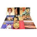 A quantity of LP records to include The Everly Brothers, Jim Reeves, Michael Jackson 'Bad',