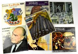 Seven Classical LPs on Decca, five WBG and two WB (7).