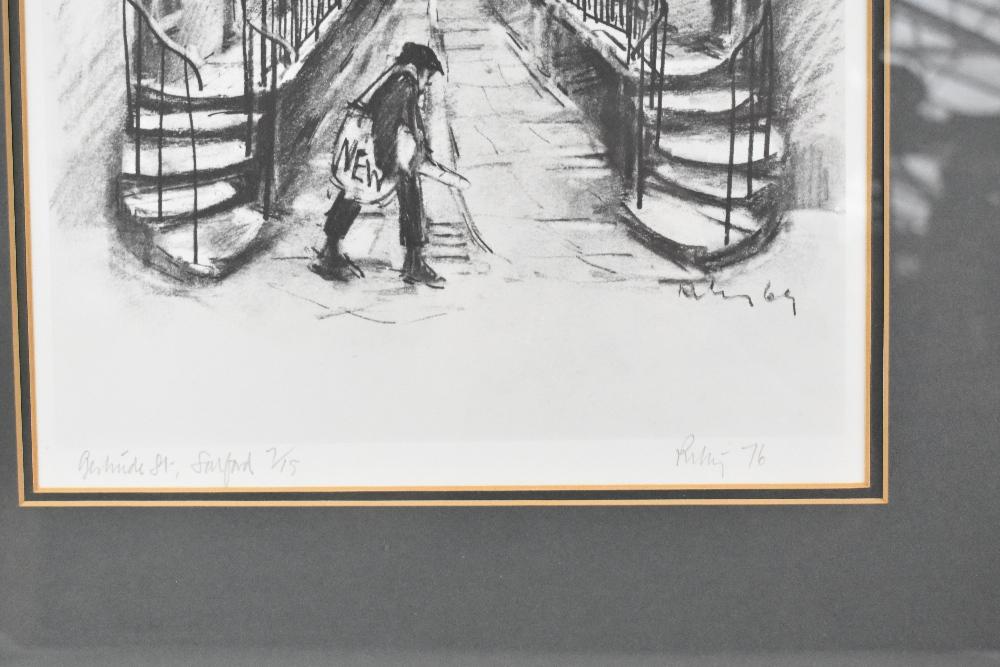 HAROLD FRANCIS RILEY DL, DLITT, FRCS, DFA, ATC (born 1934); signed limited edition black and white - Image 3 of 5