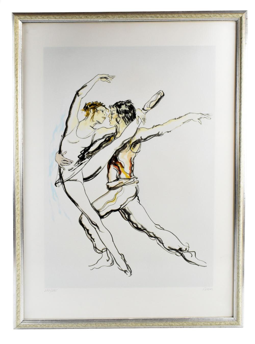 DONALD HAMILTON FRASER (Scottish, 1929-2009); pencil signed limited edition print, 'Spartacus',