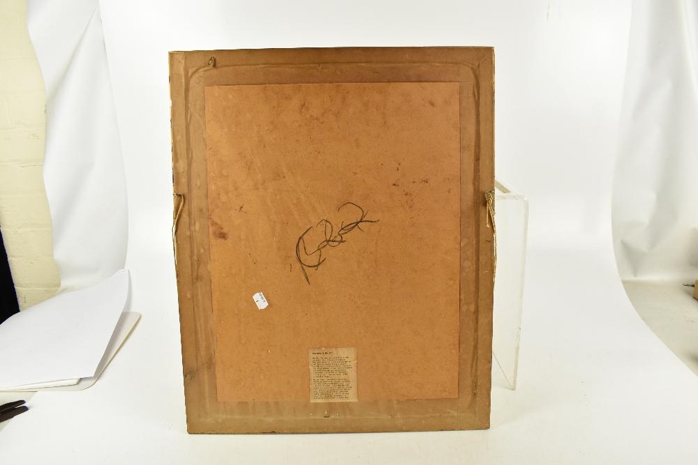 HAROLD FRANCIS RILEY DL DLitt FRCS DFA ATC (born 1934); lithograph, 'Street Vendor', 20/50, signed - Image 4 of 4
