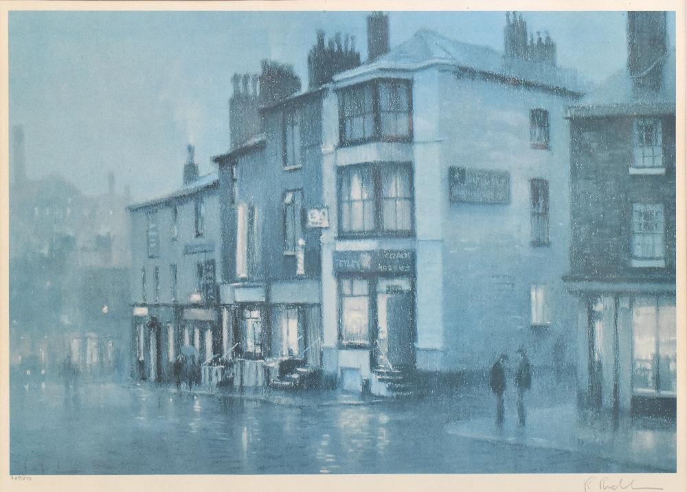 ROBERT 'BOB' RICHARDSON (born 1938); two signed limited edition coloured prints 'Stockport - Image 2 of 5