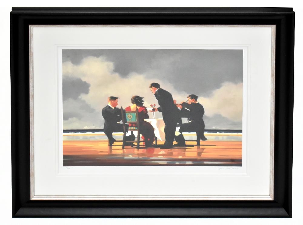 JACK VETTRIANO (Scottish, born 1951); pencil signed limited edition print, 'Elegy for the Dead
