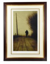 STEPHEN TOWNSEND (born 1955); pencil signed limited edition print, 'Toddling Home', 23/295, 53 x