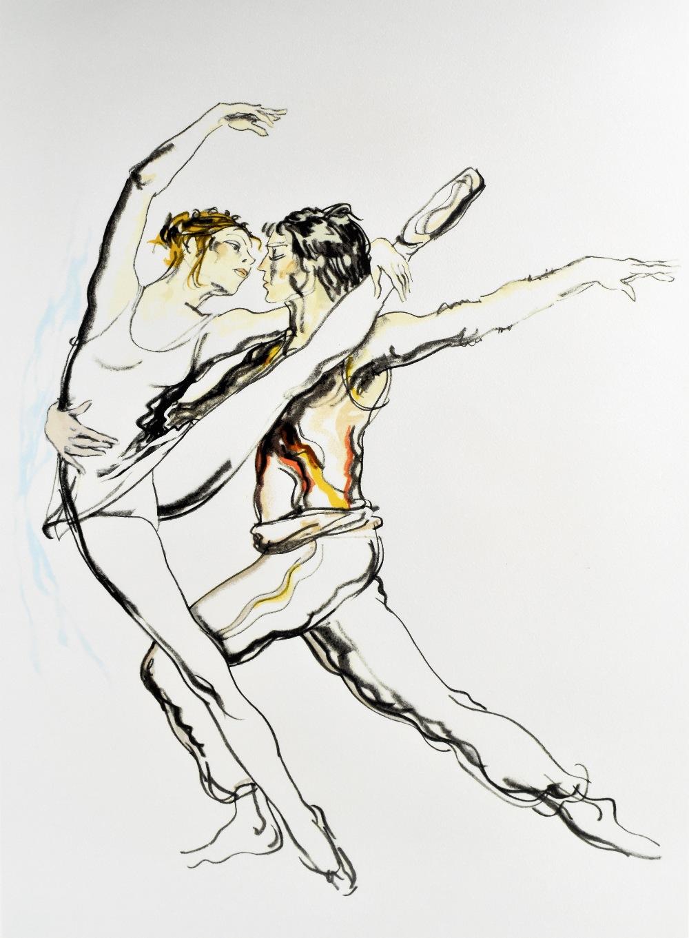 DONALD HAMILTON FRASER (Scottish, 1929-2009); pencil signed limited edition print, 'Spartacus', - Image 2 of 5