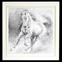 GARY BENFIELD (born 1965); signed limited edition print, 'Storm', 78 x 77.5cm, framed. (D)Additional