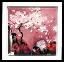 DANIELLE O'CONNOR AKIYAMA (born 1957); signed limited edition print on canvas, 'Painted Dream II',
