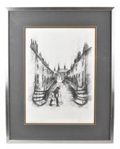 HAROLD FRANCIS RILEY DL, DLITT, FRCS, DFA, ATC (born 1934); signed limited edition black and white