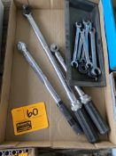 WILLIAMS TORQUE WRENCH, TORQUE WRENCHES, SNAP-ON WRENCHES