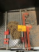 BAR CLAMPS, RIGID PIPE WRENCHES, ADJUSTABLE WRENCH, CHAIN