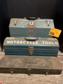 (3) EMPTY TOOL BOXES