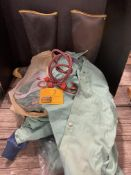 RUBBER BOOTS, BUNGEE CORDS, WELDING CLOTHES