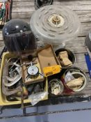 MOTORCYCLE HELMET, MADNIFY LIGHT, BIRD FEEDER, WIRE CONNECTS, AND MORE