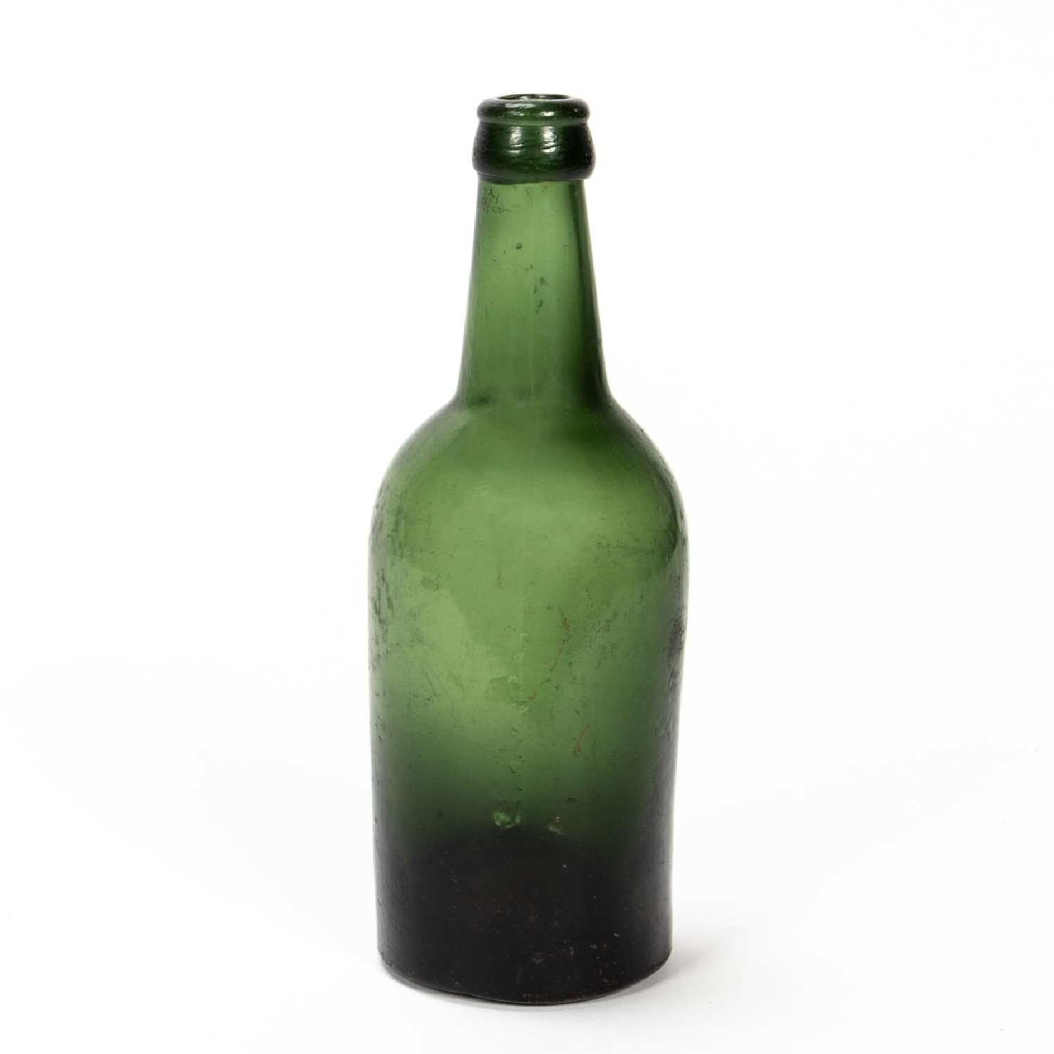 RMS CARPATHIA, SALVAGED GREEN GLASS BEER BOTTLE - Image 2 of 5