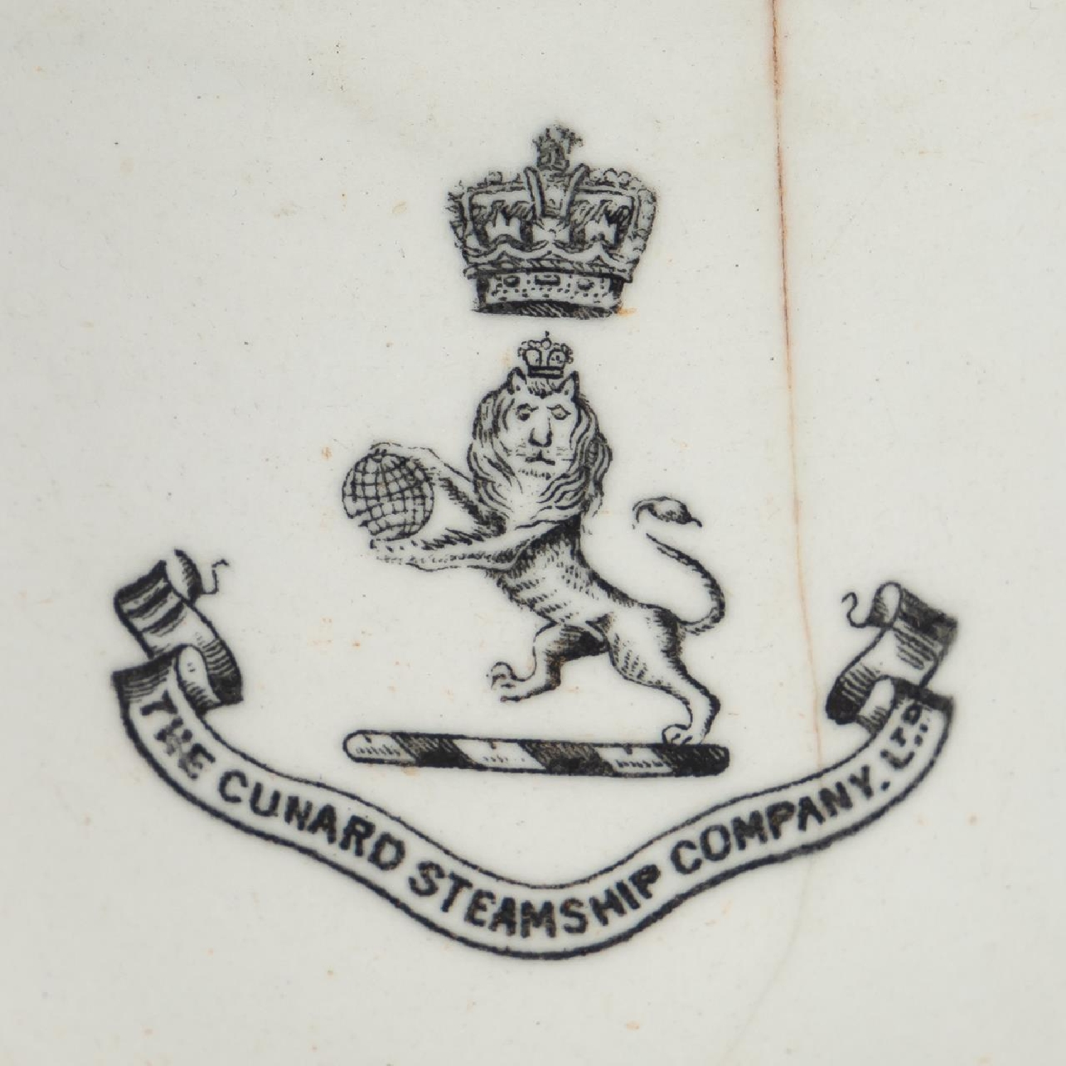 RMS CARPATHIA, SALVAGED THIRD CLASS CUP WITH LOGO - Image 9 of 9
