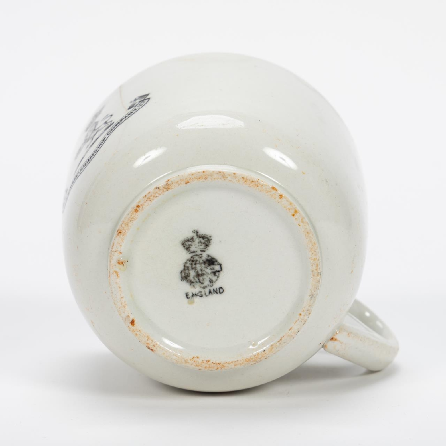 RMS CARPATHIA, SALVAGED THIRD CLASS CUP WITH LOGO - Image 7 of 9