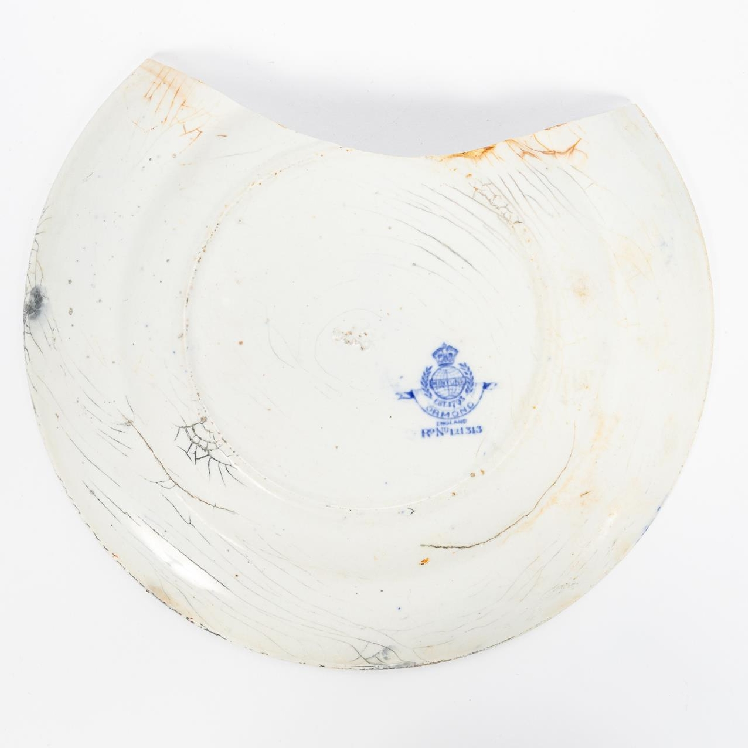 RMS CARPATHIA, SALVAGED FIRST CLASS PLATE - Image 2 of 5